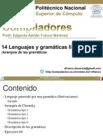 14 Lenguajes y Gramaticas II