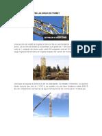 Información Grúas Torre 1