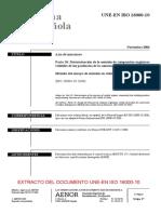 UNE EN ISO 16000-10-2006