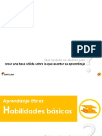 Habilidades Basicas Marco Teorico Aprendizaje Eficaz