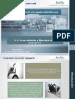 2.1. Generalidades y Tipologia de La Innovacion