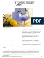 Anti-Ansiedad Natural_ Agua de Lavanda Con Limón - Barcelona Alternativa