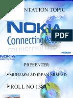 Nokia Presentation for accounting