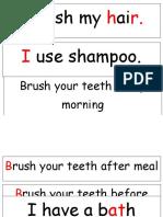 Sentence Strip Be Clean