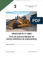 Manual Bulldozer d11t Caterpillar Tren Potencia Transmision Sistemas Electro Hidraulicos Implementos Finning Caterpillar