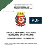 6 - Manual Adicional Por Tempo de Servico Quinquenio e Sexta Parte Versao Maio 2015 (1)