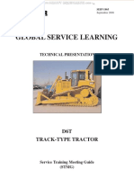 Manual Caterpillar d6t Track Type Tractor Operation Cab Monitoring System Engine Power Train Implement Hydraulics