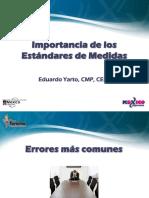 01.- Importancia de Los Estándares de Medidas