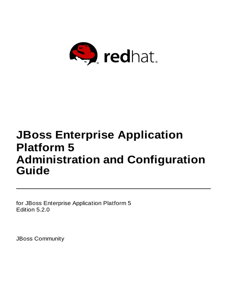 Jboss Enterprise Application Platform 5 Administration And ...