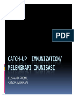 Catch Up Immunization