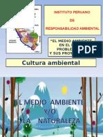 Cultura Ambiental Medio Ambiente Peru