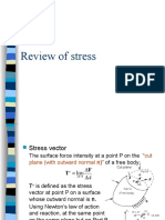 Review of Stress and Strain