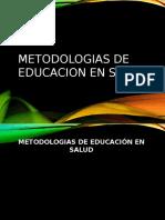 15. Metodologia Educacion en Salud 2016