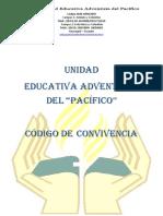 Código de Convivencia 2017 - 2019 Cap