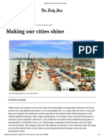 Making Our Cities Shine _ the Daily Star