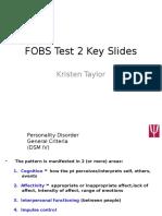 FOBS Test 2 Key Slides