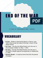 end of wwii- ppt