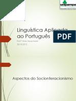 Sociointeracionismo e Pcns