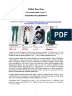 UNIQLO Case Study for Assessments 1 and 2 2016_MAR004-3 Global Marketing