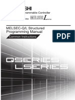 MITSUBISHI QL Structured Mode IEC Programming Manual Common Instructions