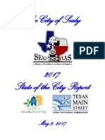 City of Sealy 2017 State of the City Report