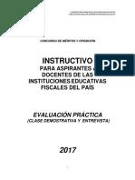 Instructivo Clase Demostrativa (1)