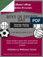 boys in sports