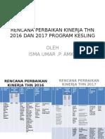 Pp Rencana Perbaikan Kinerja Thn 2016 Dan 2017 Program