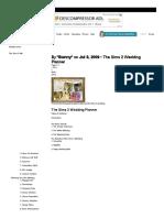 TSR - Tutorials _ the Sims 2 Wedding Planner