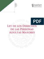 Ley de Los Derechos de Las Personas Adultas Mayores 2014 Inapam
