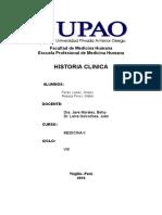 Excelente Historia Clinica