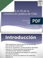 Artículo 24 Al 28 de La Constitución Política
