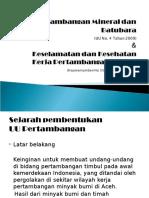Kul 02, Peraturan & K3 Pertambangan