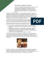 Irradiacion de Alimentos en Peru