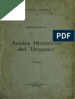 Anales Historicos Del Uruguay Tomo 1