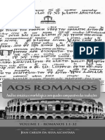 Análise sintática de Romanos