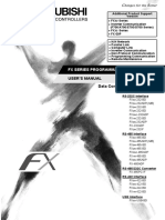Fx Series User's Manual - Data Communication Edition