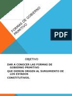 Formas de Gobierno Primitivo 1 2015