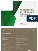 Determinantes Socioeconomicas de La Educacion Financiera CAF