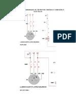 Simulación Del Arranque de Un Motor Trifásico Conexión a Dos Hilos