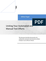 Uniting Your Automated and Manual Test Efforts