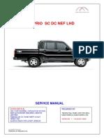 Service Manual Scorpio SC DC NEF LHD