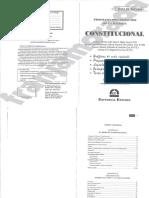 Guía de Estudio - Derecho Constitucional
