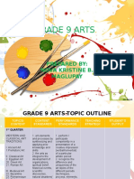 Grade 9-Outline Arts