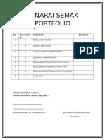 Senarai Semak Portfolio Guru Baharu