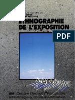 Eliséo Véron, Martine Levasseur Ethnographie de lexposition lespace, le corps et le sens.pdf
