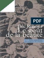 Rohmer 2004 Le Goût de la Beauté