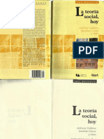 Teorizar Analitico Anthony Gidden, Jonathan Turner y Otros
