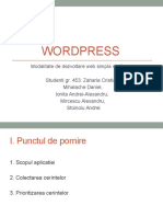 Wordpress Prezentare Gr453