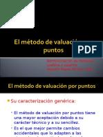 Valuacion Por Puntos